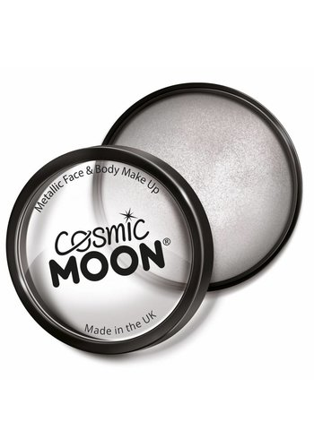 Moon Metallic Face Paint - Zilver