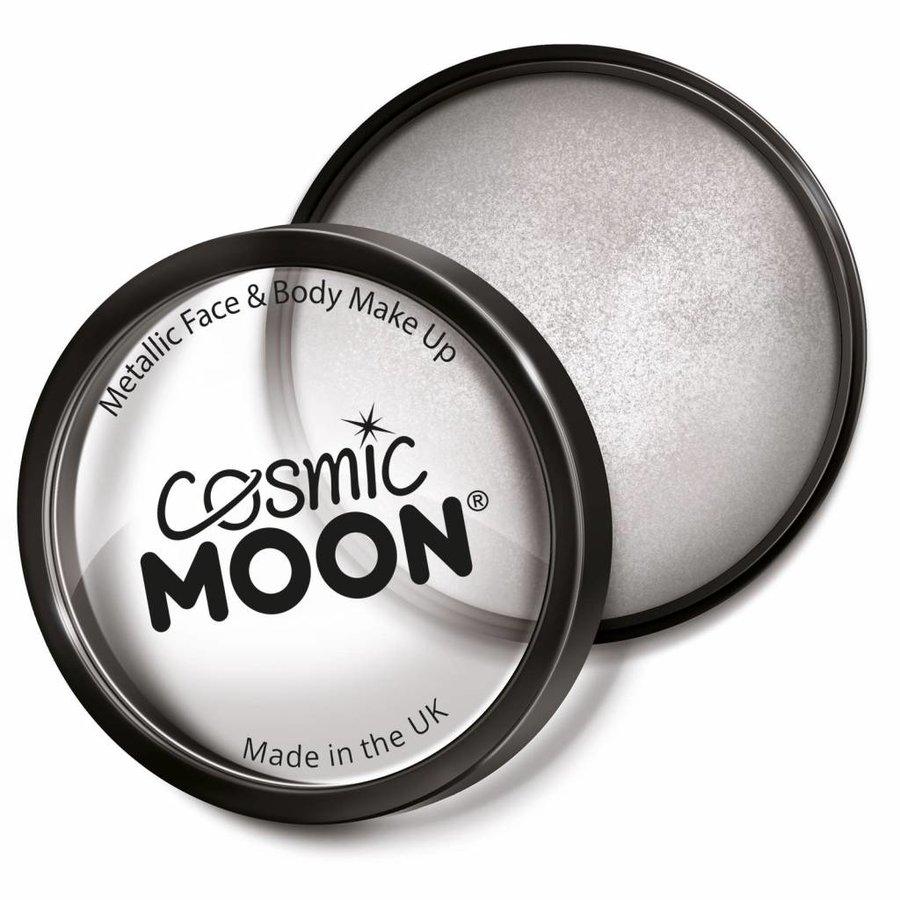 Moon Metallic Face Paint - Zilver-1