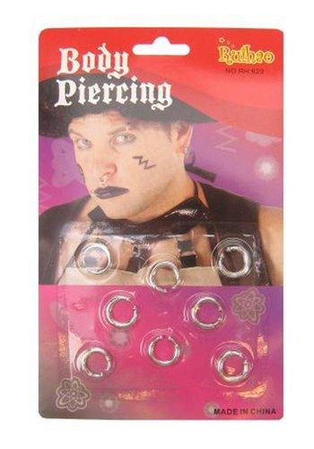 Piercings - 8 stuks