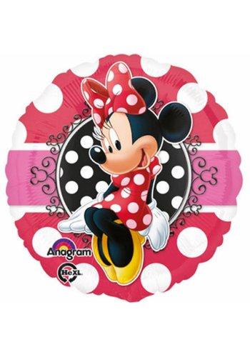 Folieballon Minnie Portrait - 45cm