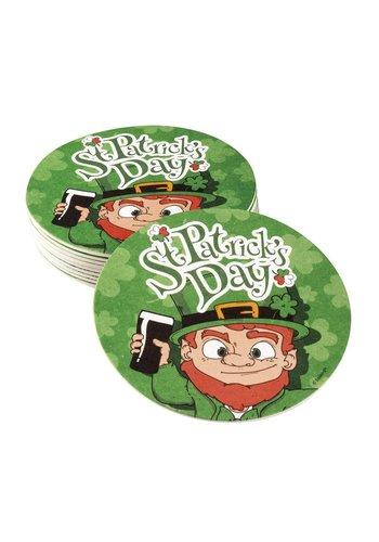 Bierviltjes St Patrick's Day - 10 st - 10 cm