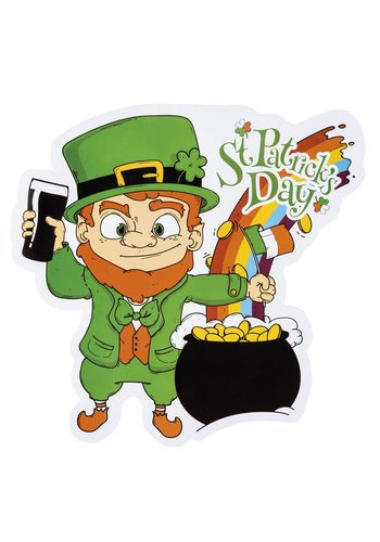 Decoratie St Patrick's Day - 30 x 29 cm