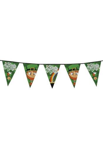 Reuzenvlaggenlijn St Patrick's Day - 8 mtr