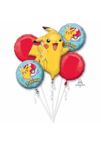 """Folieballonnen Boeket """"Pokemon"""""""