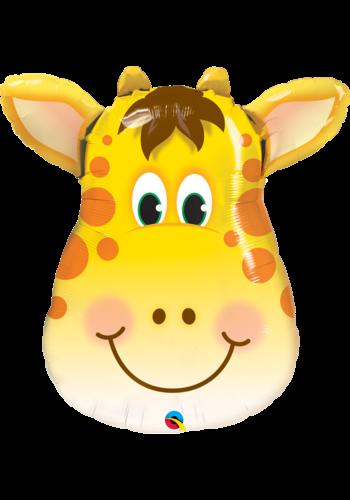 Folieballon Jolly Giraffe - 61x69cm