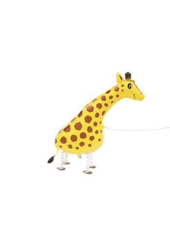 Folieballon Walking Pet Giraffe - 86cm