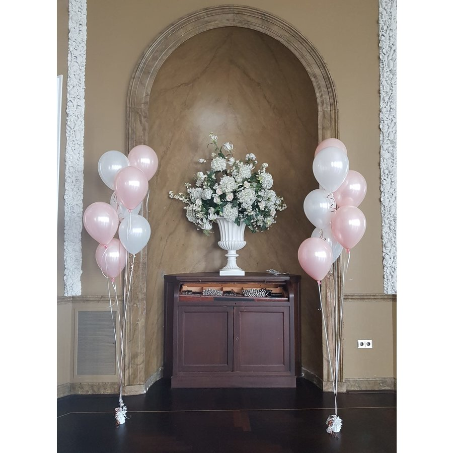 Staander van 7 heliumballonnen-3