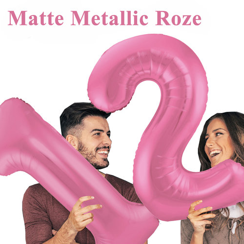 Mat Metallic Roze