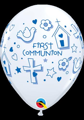 """11"""" First Communion - Blauw (28cm)"""