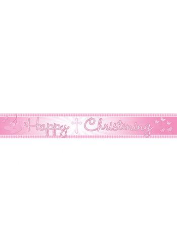Communie Banner - Roze - 450 cm
