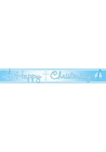 Communie Banner - Blauw - 450 cm
