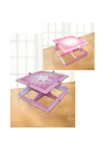 Communie Taart standaard - Roze