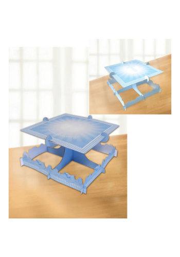 Communie Taart standaard - Blauw