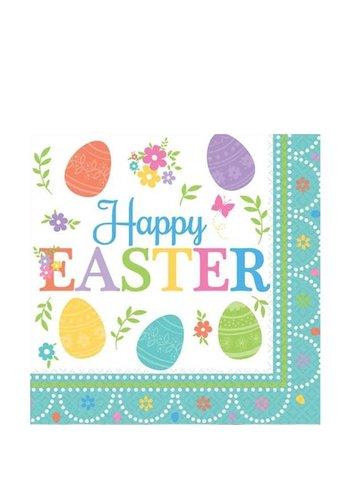 Happy Easter Servetten - 16 st - 33x33cm