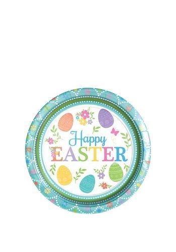Happy Easter Bordjes - 8 st - 18cm