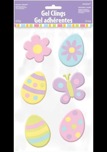Happy Easter Raamdecoratie- 6 st