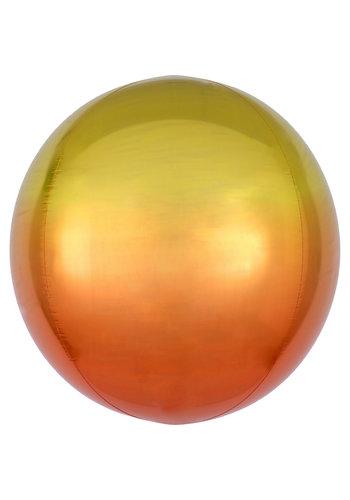 Orbz Marmer Geel/Oranje - 38 x 40cm
