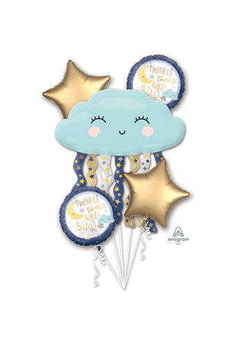 """Folieballonnen Boeket """"Twinkle Little Star"""""""