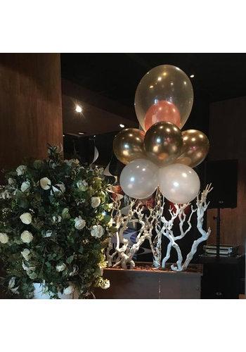 Wolkje met dubbele topballon