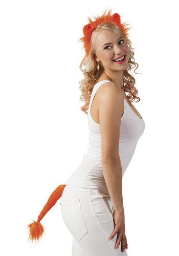 Oranje Leeuw Tiara en Staart
