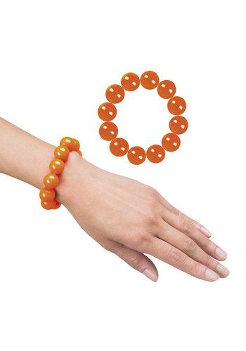Armbandje Oranje Kralen