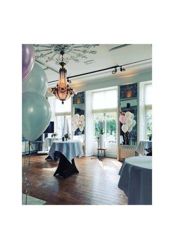 Staander van 7 heliumballonnen