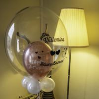 thumb-Bedrukte Ballon - Happy Birthday Girl-6
