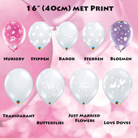 thumb-Cadeau Ballon met Glitter-8
