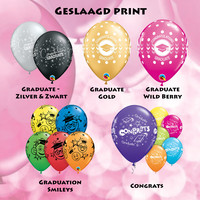 thumb-Cadeau Ballon met Glitter-11