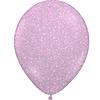 "Qualatex Heliumballon Glitter Hot Pink - 11"" (28cm)"