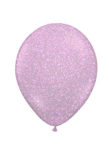 "Heliumballon Glitter Hot Pink - 11"" (28cm)"