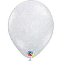 """thumb-Heliumballon Glitter Iridescent - 11"""" (28cm)-1"""
