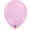 "Heliumballon Glitter Roze - 11"" (28cm)"