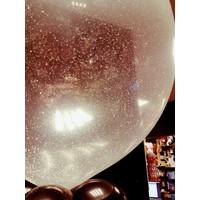 "thumb-Heliumballon Glitter Hot Pink - 11"" (28cm)-2"