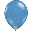 "Heliumballon Blauw met Glitter - 11"" (28cm)"