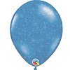 "Qualatex Heliumballon Blauw met Glitter - 11"" (28cm)"