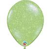 """Qualatex Heliumballon Lime Groen met Glitter - 11"""" (28cm)"""