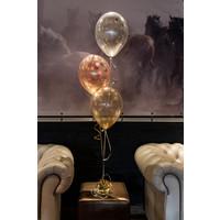 """thumb-Heliumballon Lime Groen met Glitter - 11"""" (28cm)-3"""