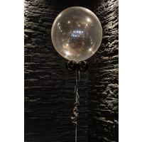 """thumb-Heliumballon Lime Groen met Glitter - 11"""" (28cm)-4"""