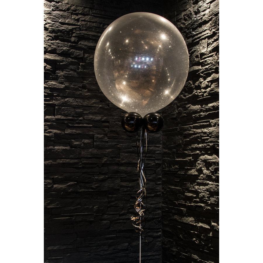 """Heliumballon Lime Groen met Glitter - 11"""" (28cm)-4"""