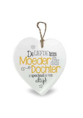 Moederdag Hartje - Liefde tussen Moeder & Dochter