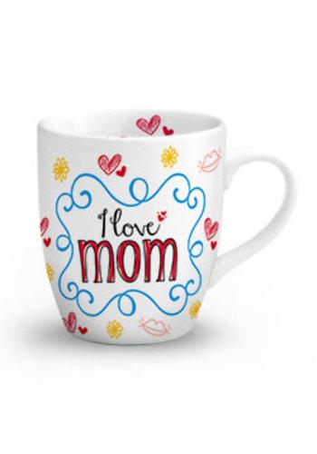 Moederdag Mok - I Love Mom