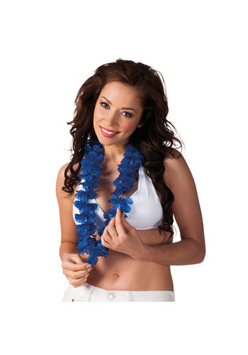 Hawaïkrans Ohana - Donker Blauw