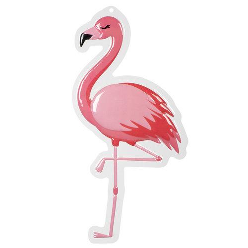 Deurbord Flamingo - 50x30cm