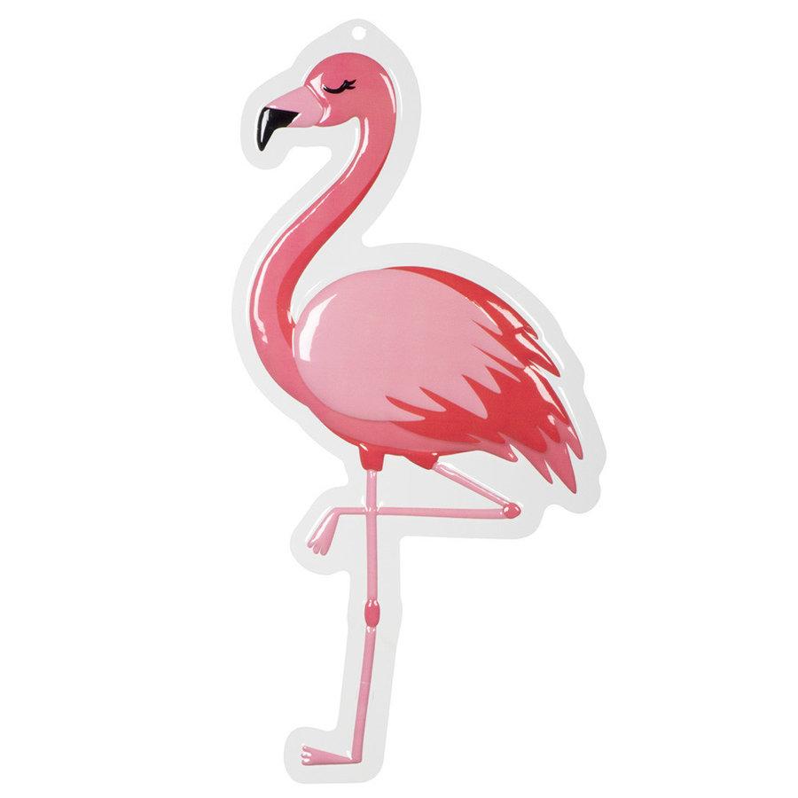 Deurbord Flamingo - 50x30cm-1