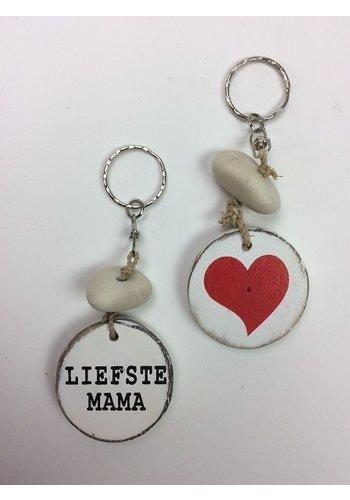 Sleutelhanger - Liefste Mama
