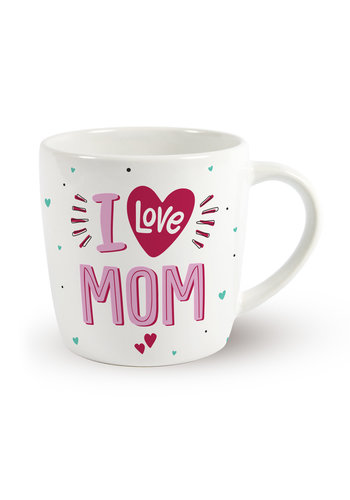 Moederdag Mok - I Love MOM