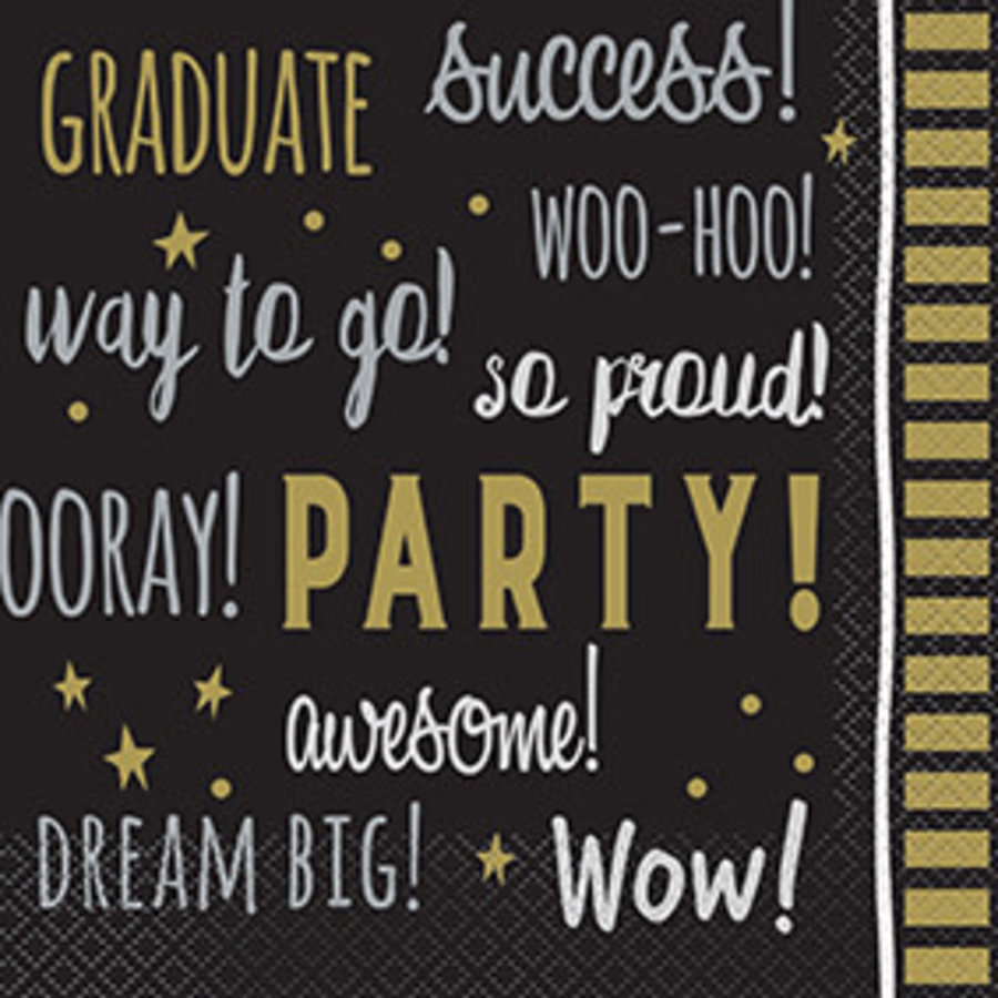 Servetten Graduate You Did It-1