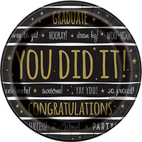 Tafelkleed Graduate You Did It