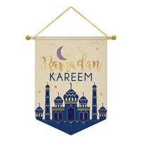 Vlag Eid Ramadan Kareem